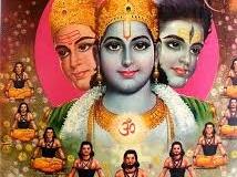 Brahma Vishnu Shiva - trinitatea hindusa
