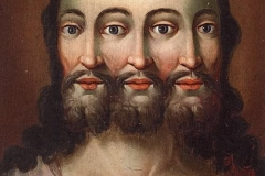 "Isus ca Trinitate - muzeul ""Folk Life and Folk Art"""